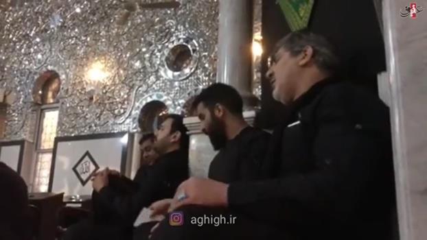 روضه خوانی حاج محمدرضا طاهری در حرم حضرت زینب سلام الله علیها